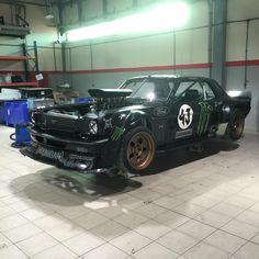 Ken blocks - Famous Mustang - at NAS Racing - Performance shop dubai.  #nasracing #kenblock #hoonagan #mustang #dubai #mydubai
