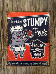 Vintage style tin metal sign // gift for her or by RinTinSignCO