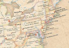 Atlas of True Names -North East