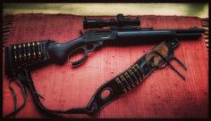 Weapons Guns, Guns And Ammo, Leather Rifle Sling, Leather Holster, Buffalo Brand, Lever Action Rifles, Long Rifle, Shotguns, Firearms