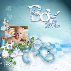 Странички сделаны из наборов Lemur Designs http://lemurdesigns.blogspot.com/   Baby boy и Baby girl