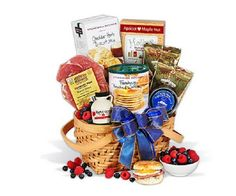 Christmas Morning Breakfast Gift Basket Holiday Easy Meal Food Keepsake Basket  #GourmetGiftBasketscom