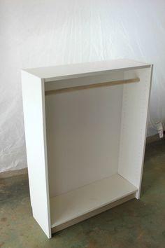 IKEA Billy Bookcase Hack: DIY Dress Up Closet