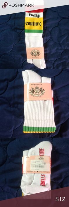 0b5a49a54d6 Juicy Couture knee high socks NWT Juicy Couture knee high socks.