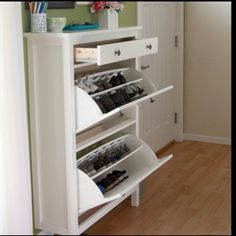 This would be great for hidden shoe storage!