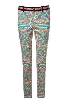 pantalones estampados: Zara
