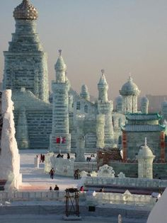 Ice Festival - Harbin, China