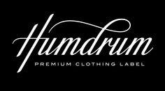 Humdrum logo by ALL WORK © SIMON ÅLANDER / COFFEEMADEMEDOIT