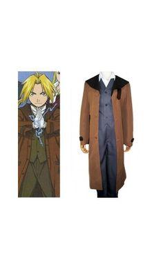 Fullmetal Alchemist Edward Halloween Costumes