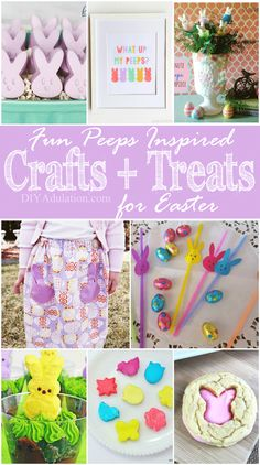 Get ready to add some silliness to your holiday. These fun Peeps inspired crafts and treats are a playful take on Easter. These crafts and treats brighten your spirits and bring joy.