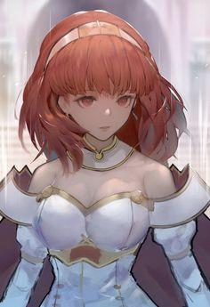 Fire Emblem Echoes Shadows of Valentia - Celica