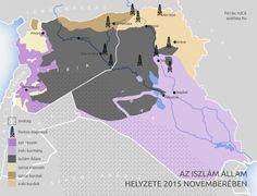 iszlám állam területe szíria irak rezsim lázadók kurdok