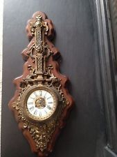 Антикварная бронзовая gatala настенные часы 1800-е годы