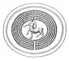 Laberinto y el sitio de inicio de muchos cultos antiguos, eran un símbolo de las ilusiones del mundo inferior a través del cual Vagua el alma del hombre en su búsqueda de verdad.