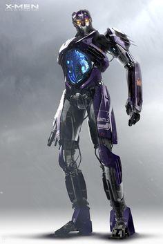 Concept art de Centinela en X-Men: Días del Futuro Pasado (2014), por Jon McCoy