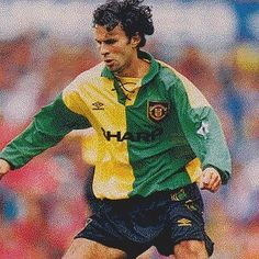 premium selection acd52 02a9d 10 Best Manchester United in Yellow and Green 92/94 images ...