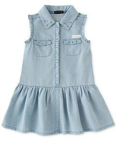 Calvin Klein Little Girls' Dress - Kids Toddler Girls (2T-5T) - Macy's