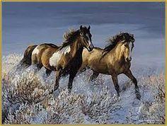 yağlı boya at tabloları ile ilgili görsel sonucu