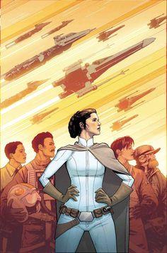 Princess Leia by DAVID MARQUEZ