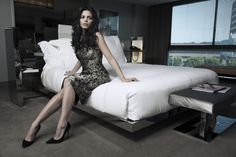 Jenna Dewan-Tatum in a Lela Rose dress