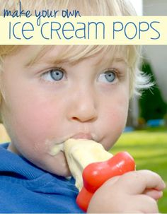 Make Your Own Ice Cream Pops!
