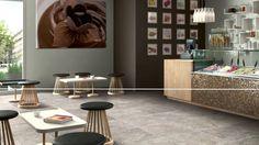 Valor. Subtle limestone look porcelain tile. #daltile