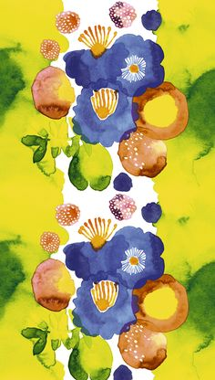 Marimekko print - not an iconic look for them, but I love it just the same.