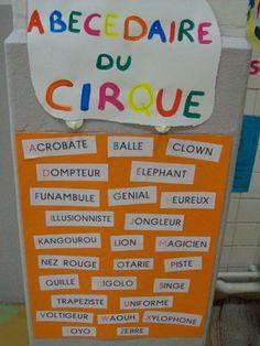 abécédaire du cirque