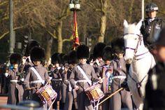 Buckingham Palace. Cambio de Guardia