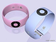 Ipod shuffle bracelet - in boy and girl colours!