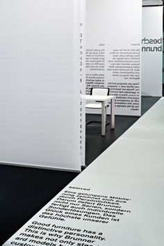 büro uebele // brunner exhibition stand orgatec cologne 2006
