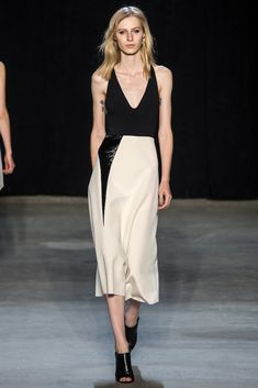 Narciso Rodriguez Spring 2015 Ready-to-Wear Fashion Show - Julia Nobis