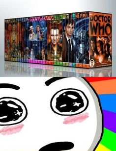 The Whovian Dream! All the Dr Who dvds in one box set! Dr Who, Serie Doctor, Don't Blink, Torchwood, Time Lords, Geek Out, David Tennant, Looks Cool, Superwholock