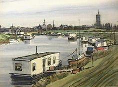 Kunsthandel & Galerie Van Driel-tentoonstellingen-Hagedoorn  Wolpherensedijk Gorinchem