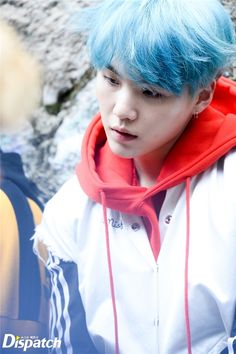 """Since March's birthstone is Aquamarine, here's a thread of yoongi with shades of blue hair 💙 Suga Suga, Jungkook Jeon, Min Yoongi Bts, Bts Bangtan Boy, Daegu, Yoonmin, Seokjin, Namjoon, Taehyung"