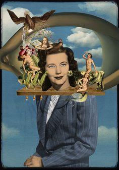 Isabel Chiara Gif & Collage