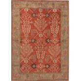 Found it at Wayfair - Poeme Chambery Orange Rust/Gold Brown Area Rug