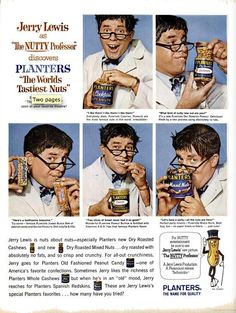 Jerry Lewis/Planters                                                                                                                                                     More