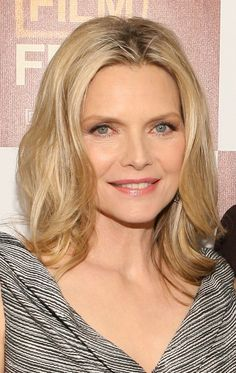 A Great Hairstyle for Michelle Pfeiffer