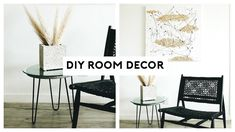 DIY ROOM DECOR! MINIMAL + AESTHETIC 2019 | Nastazsa Wishbone Chair, Diy Room Decor, Home Decor, Your Space, Spice Things Up, Minimalism, Dining Chairs, House, Decor Ideas