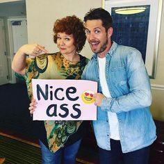 Sean Maguire and Beverley Elliott at New Jersey's Con - 4 and 5 of June, 2016