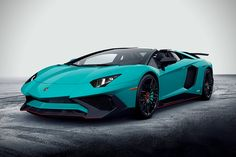 The first images of the upcoming Lamborghini Aventador LP 750-4 Superveloce Roadster have hit the Web. The limited-edition convertible will be presented to the public for the first time this September at the Frankfurt Motor show. Unique and Emotional Automobili Lamborghini has announced a roadster version of its Aventador LP 750-4 Superveloce. The