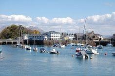 Porthmadog - Harbour, North Wales