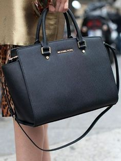 Just Come To Our Michael Kors Selma Top-Zip Large Black Satchels Online  Store To Buy. Chi Liu · Bags 7a9d90613a