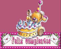 Felicitaciones de cumpleaños animadas