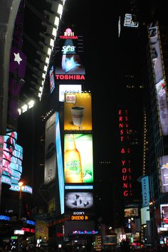 New York City  Times Square  by T.C.