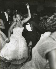 Dancers at the Bon Temps Carnival Ball, New Orleans, 1953