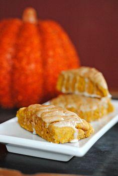 Pumpkin Scones with @King Arthur Flour White Whole Wheat Flour | Juanita's Cocina