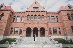 Old Orange County Courthouse Wedding Photography.