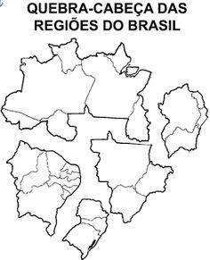 Blog de atividades fundamental 1 e 2: Quebra cabeça Regiões do Brasil em word Sistema Solar, Helping People, Geography, Professor, Clip Art, History, Blog, Homeschooling, Drinks